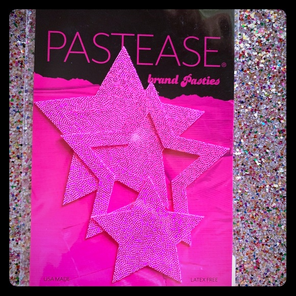 pastease Other - Hot pink Glitter Pasties